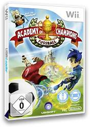 Academy of Champions: Fussball Wii cover (R5FP41)