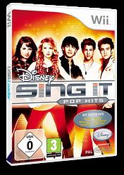 Disney Sing It: Pop Hits Wii cover (R62P4Q)