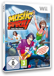 Musiic Party: Rock the House Wii cover (R7MXFR)
