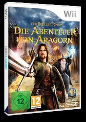 Der Herr der Ringe:Die Abenteuer von Aragorn Wii cover (R8JPWR)