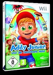 Addy Junior und die verzauberte Natur Wii cover (R8UXMR)