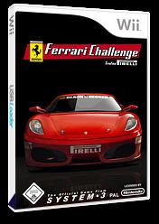 Ferrari Challenge: Trofeo Pirelli Wii cover (RF3P6M)