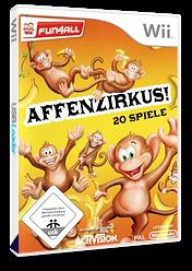 Affenzirkus! 20 Spiele Wii cover (RFVP52)