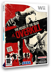 The House of the Dead: Overkill Wii cover (RHOP8P)