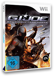 G.I. Joe: Geheimauftrag Cobra Wii cover (RIJP69)