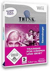Think Logic Trainer - Training für Körper und Geist Wii cover (RJ9PFR)