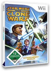 Star Wars The Clone Wars: Lichtschwertduelle Wii cover (RLFP64)