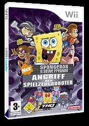 SpongeBob und seine Freunde: Angriff der Spielzeugroboter Wii cover (RN3X78)
