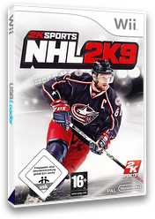 NHL 2K9 Wii cover (RNLP54)