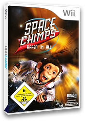 Space Chimps: Affen Im All Wii cover (RP9PRS)