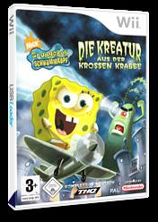 SpongeBob Schwammkopf: Die Kreatur aus der Krossen Krabbe Wii cover (RQ4P78)