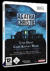 Agatha Christie: Und dann gabs keines mehr Wii cover (RQTP6V)