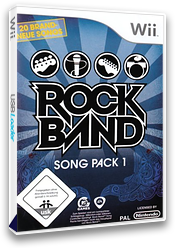 Rock Band Song Pack 1 Wii Cover RREP69