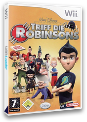Triff die Robinsons Wii cover (RRSP4Q)