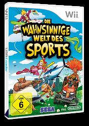 Die wahnsinnige Welt des Sports Wii cover (RTIP8P)