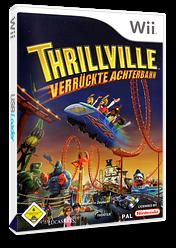 Thrillville: Verrückte Achterbahn Wii cover (RTVP64)
