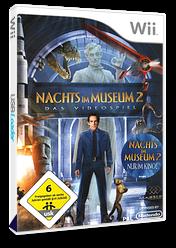 Nachts im Museum 2: Das Spiel Wii cover (RU7X5G)