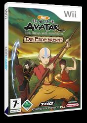 Avatar: Der Herr der Elemente - Die Erde brennt Wii cover (RVAP78)