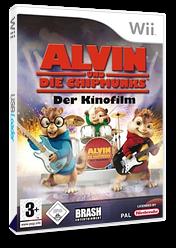 Alvin und die Chipmunks: Der Kinofilm Wii cover (RVBPRS)