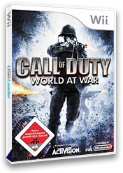 Call of Duty: World at War Wii cover (RVYP52)