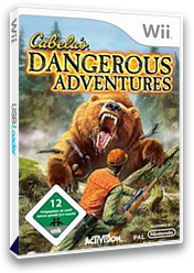 Cabela's Dangerous Adventures Wii cover (RXZP52)