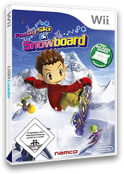 Family Ski & Snowboard Wii cover (RYKPAF)