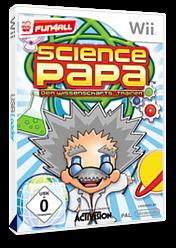 Science Papa: Der Wissenschafts-Trainer Wii cover (RZEP52)