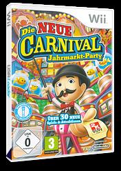 Die Neue Carnival Jahrmarkt-Party Wii cover (S2CP54)