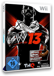 WWE '13 Wii cover (S3XP78)