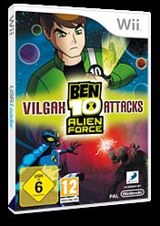 Ben 10: Alien Force: Vilgax Attacks Wii cover (SBNPG9)