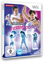 Dance Dance Revolution - Hottest Party 4 Wii cover (SDYPA4)