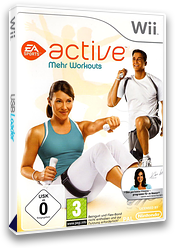 EA Sports Active: Mehr Workouts Wii cover (SEAP69)