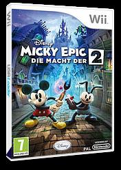 Disney Micky Epic: Die Macht der 2 Wii cover (SERP4Q)