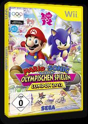 Mario & Sonic bei den Olympischen Spielen London 2012 Wii cover (SIIP8P)