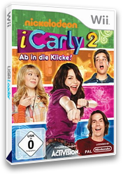 iCarly 2: Ab in die Klicke! Wii cover (SIJP52)