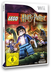 LEGO Harry Potter: Die Jahre 5-7 Wii cover (SLHPWR)