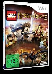 LEGO Der Herr der Ringe Wii cover (SLRPWR)