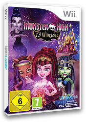 Monster High: 13 Wünsche Wii cover (SNYPVZ)
