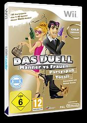 Das Duell - Männer vs. Frauen: Partyspaß Total! Wii cover (SQTPML)