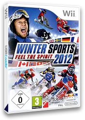 Winter Sports 2012: Feel the Spirit Wii cover (SS2PFR)