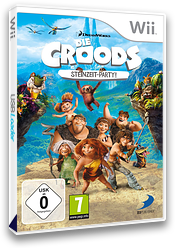 Die Croods: Steinzeit Party! Wii cover (SVVPAF)