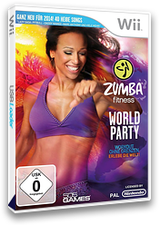 Zumba Fitness World Party Wii cover (SZ3PGT)