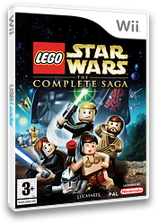 LEGO Star Wars : The Complete Saga Wii cover (RLGP64)