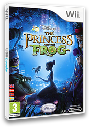 Disney The Princess and the Frog Wii cover (RU5P4Q)