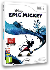 Disney Epic Mickey Wii cover (SEMZ4Q)