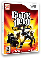 Guitar Hero: World Tour Wii cover (SXAP52)
