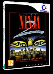 The Last Ninja 2 VC-C64 cover (C93P)