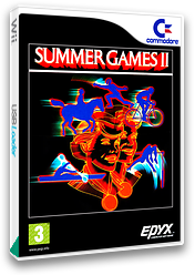 Summer Games 2 VC-C64 cover (C96P)