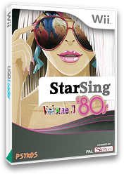 StarSing : '80s Volume 3 v2.2 CUSTOM cover (CSAP00)