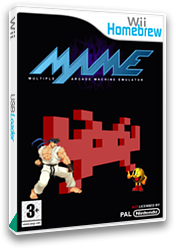 Mame Wii Homebrew cover (DMAA)